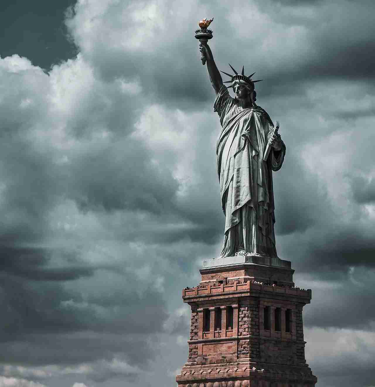 Statue of Liberty in New York. (Photo by Julius Drost on Unsplash)