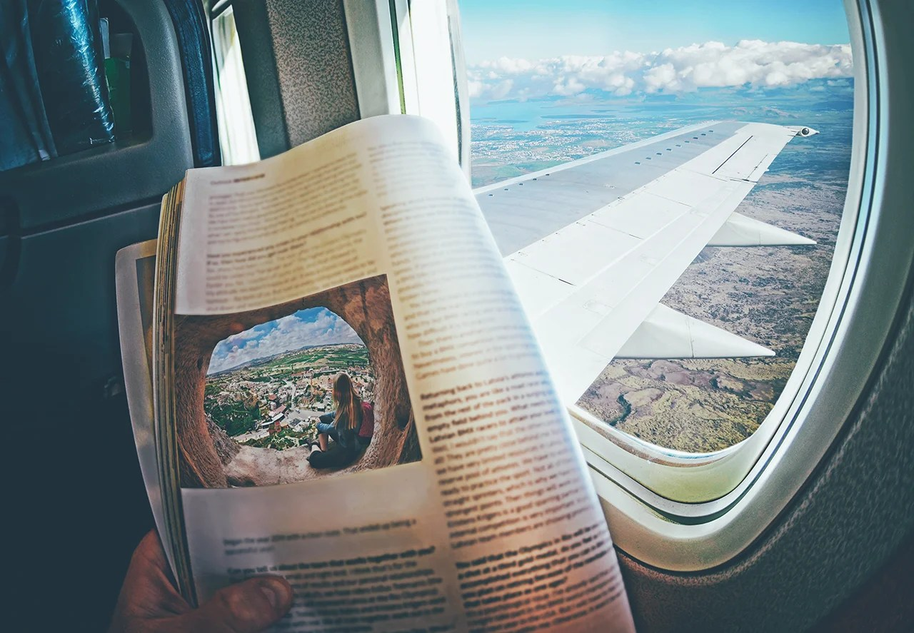 Around the World in Eight Inflight Magazines