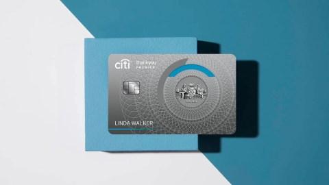 Citi ThankYou Premier Credit Card: 60,000 Point Sign-Up Bonus