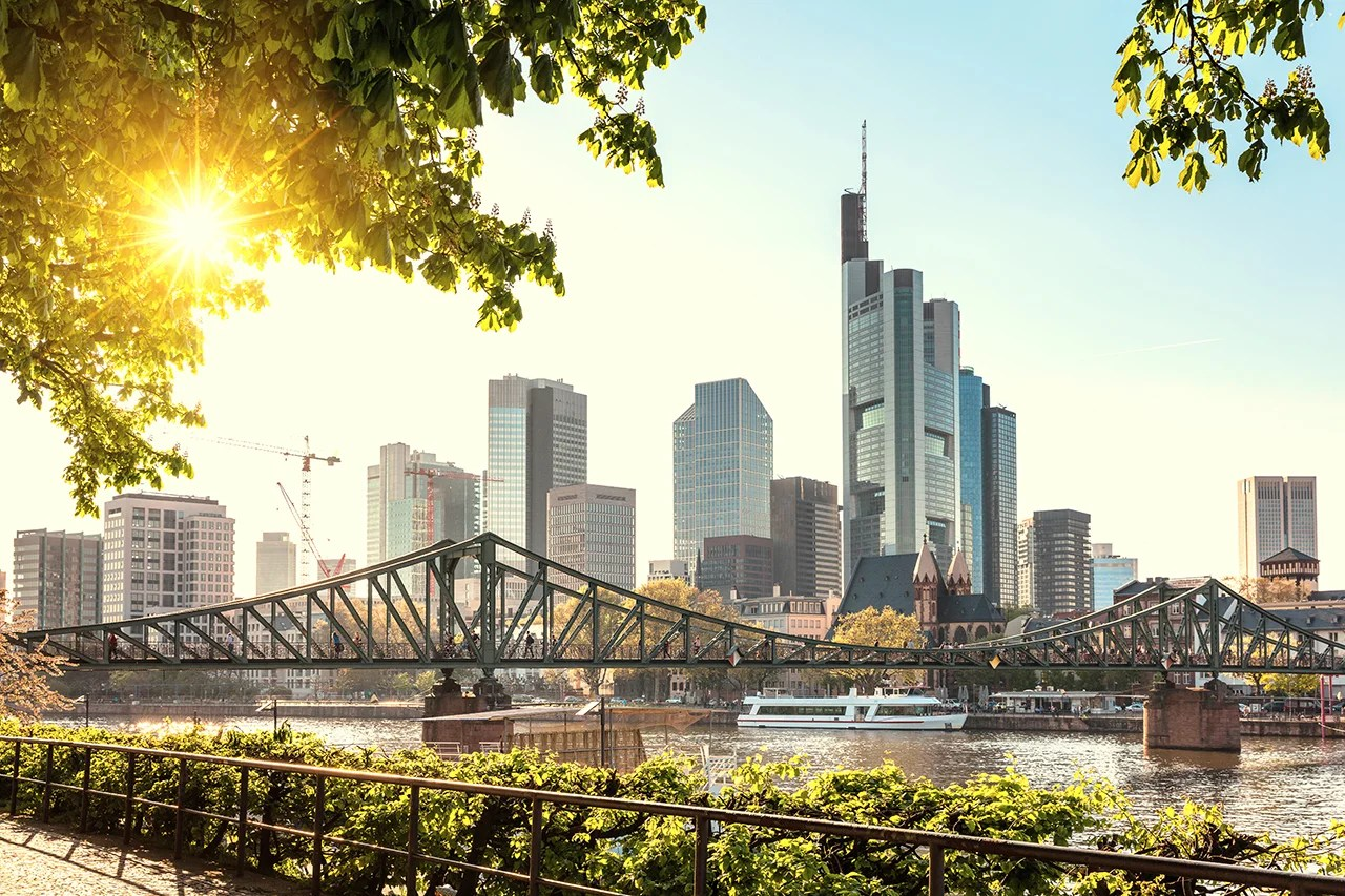 Fly from Sin City to Frankfurt thanks to this upcoming route by Lufthansa partner Eurowings. (Photo by Nikada/Getty Images)