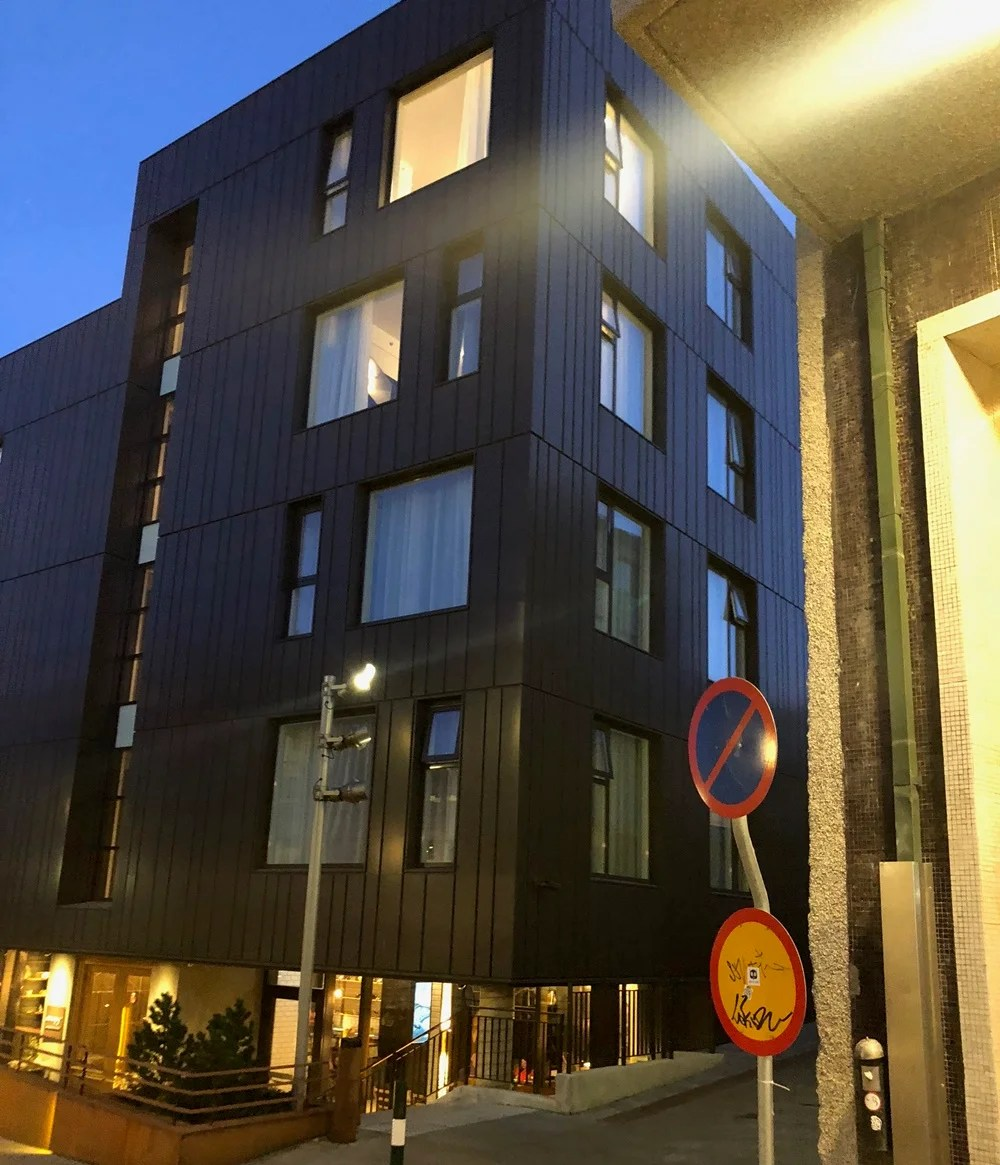 In town out of touch a review of the hilton canopy reykjavik for Hotels in reykjavik centre
