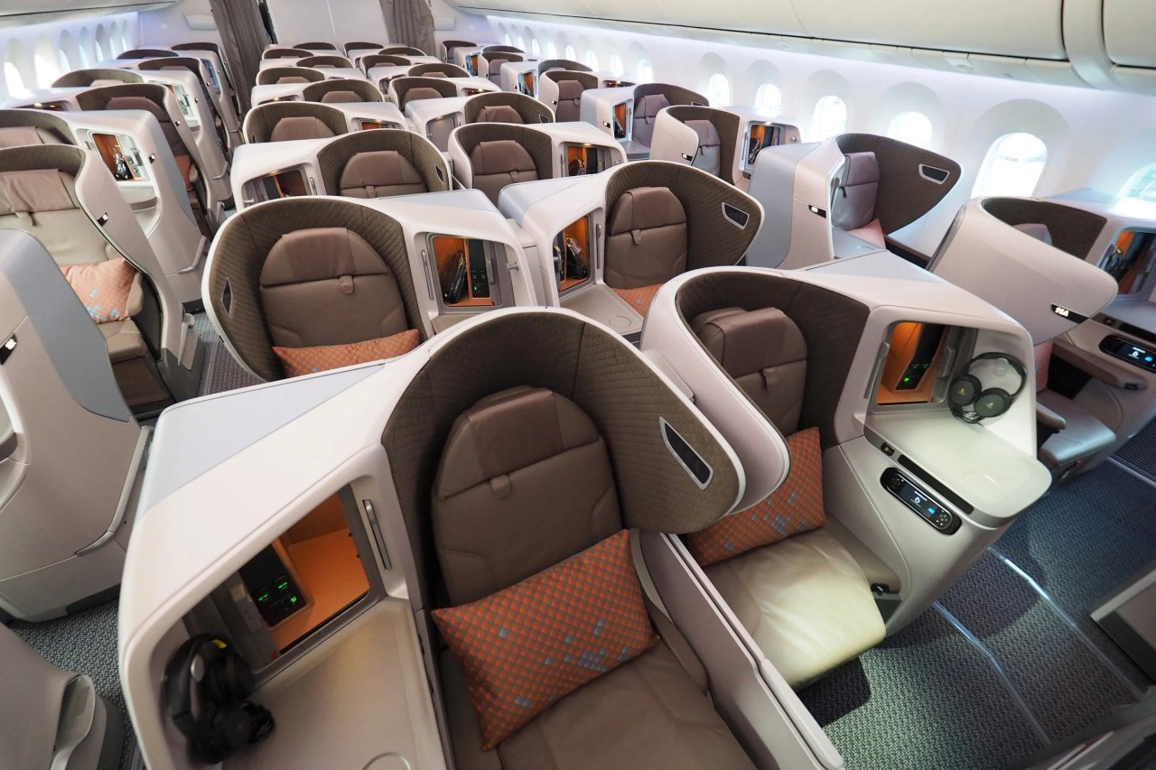 First Look: Singapore Airlines' Great New Regional Business Class