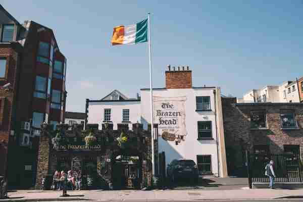 The Brazen Head in Merchants Quay in Dublin, Republic of Ireland. The Brazen Head pub dates back to 1198. (Photo by Sam Mellish / In Pictures via Getty Images)