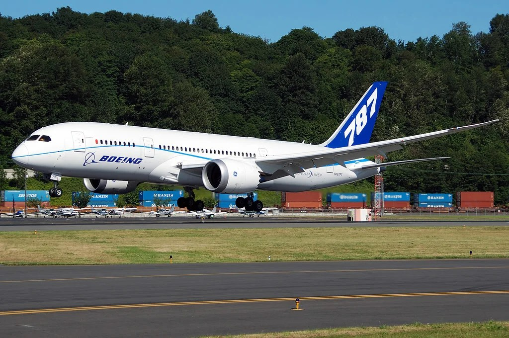 This Is the First 787 Dreamliner to Be Scrapped