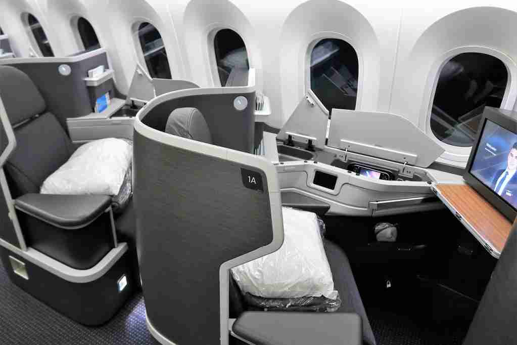 Keep your miles active so you can redeem for more business class seats!