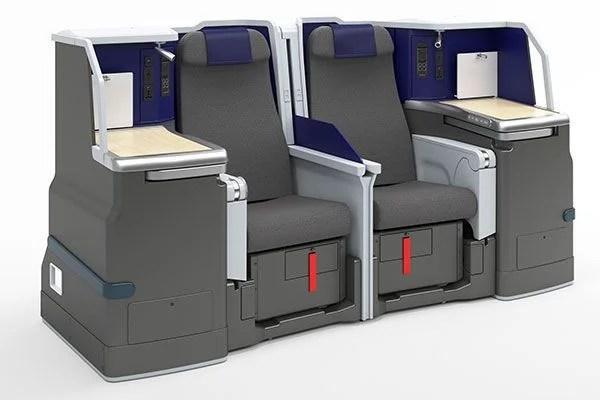 ANA A380 Business Class seat