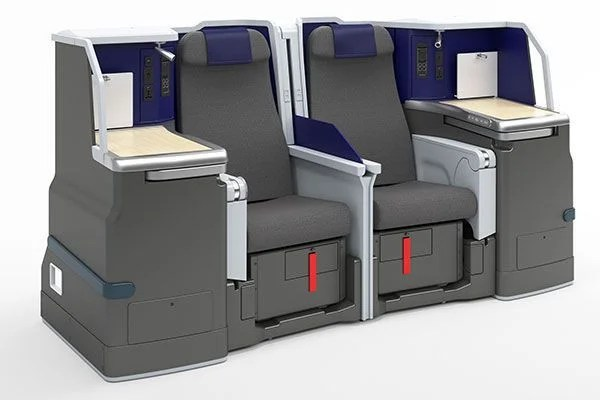 ANA A380 Business Class seat