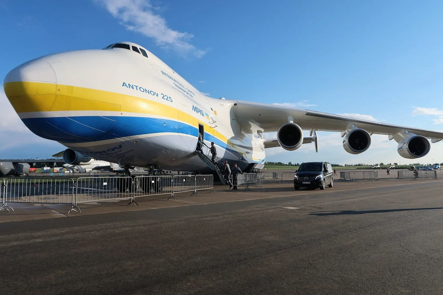 A Tour Inside the Largest Operating Aircraft in the World — the Antonov An-225