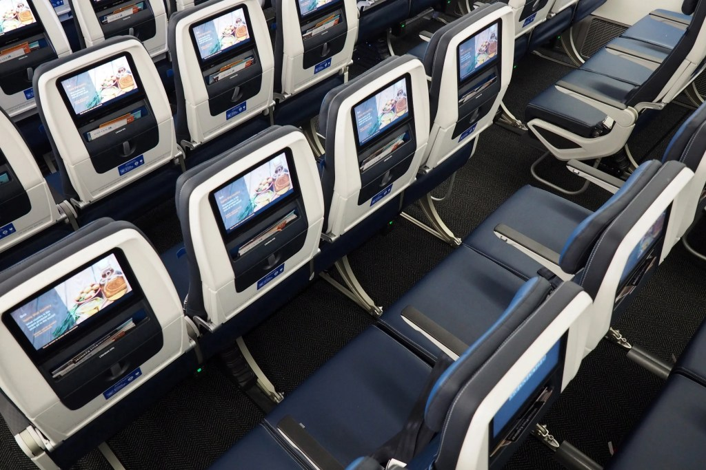 Where to Sit on United's New 777-200: Economy and Economy Plus