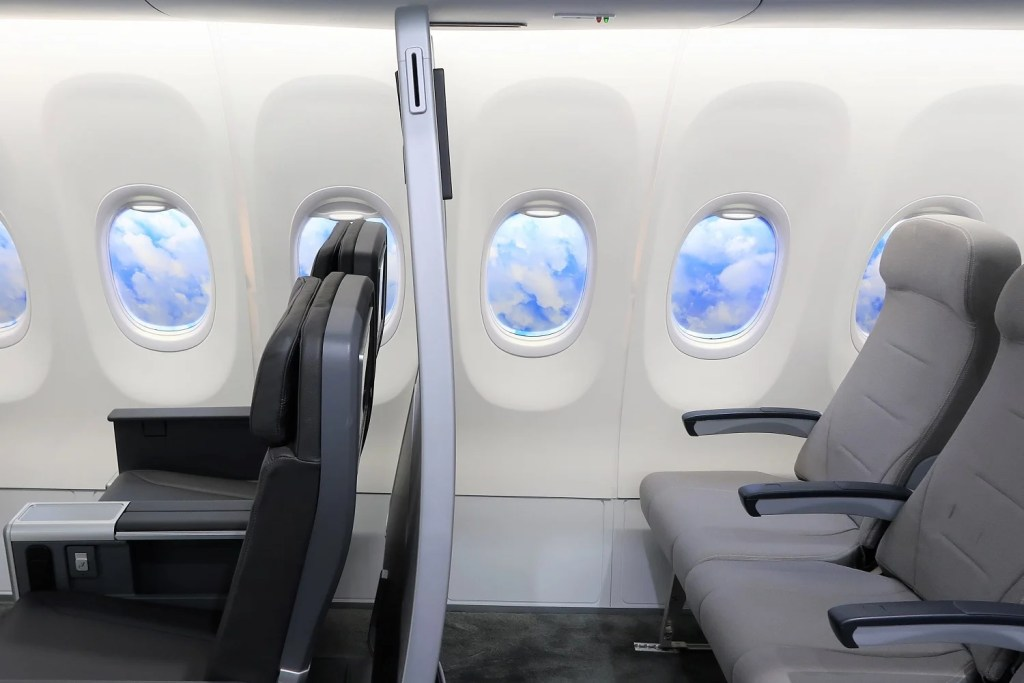 why a movable wall is a winner in aircraft cabin design
