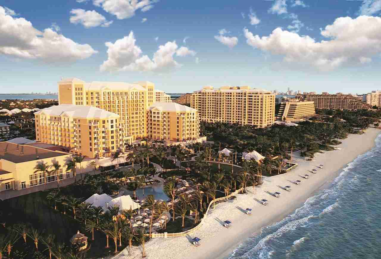 The Ritz-Carlton Key Biscayne in Miami.