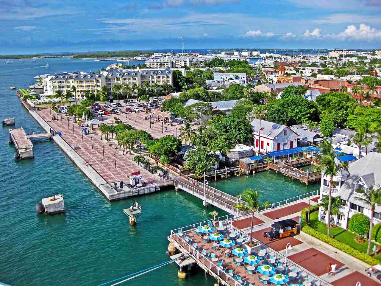 The tropical city of Key West just got a lot closer for folks in Philly and Chicago. (Photo by @galvman2 via Twenty20)