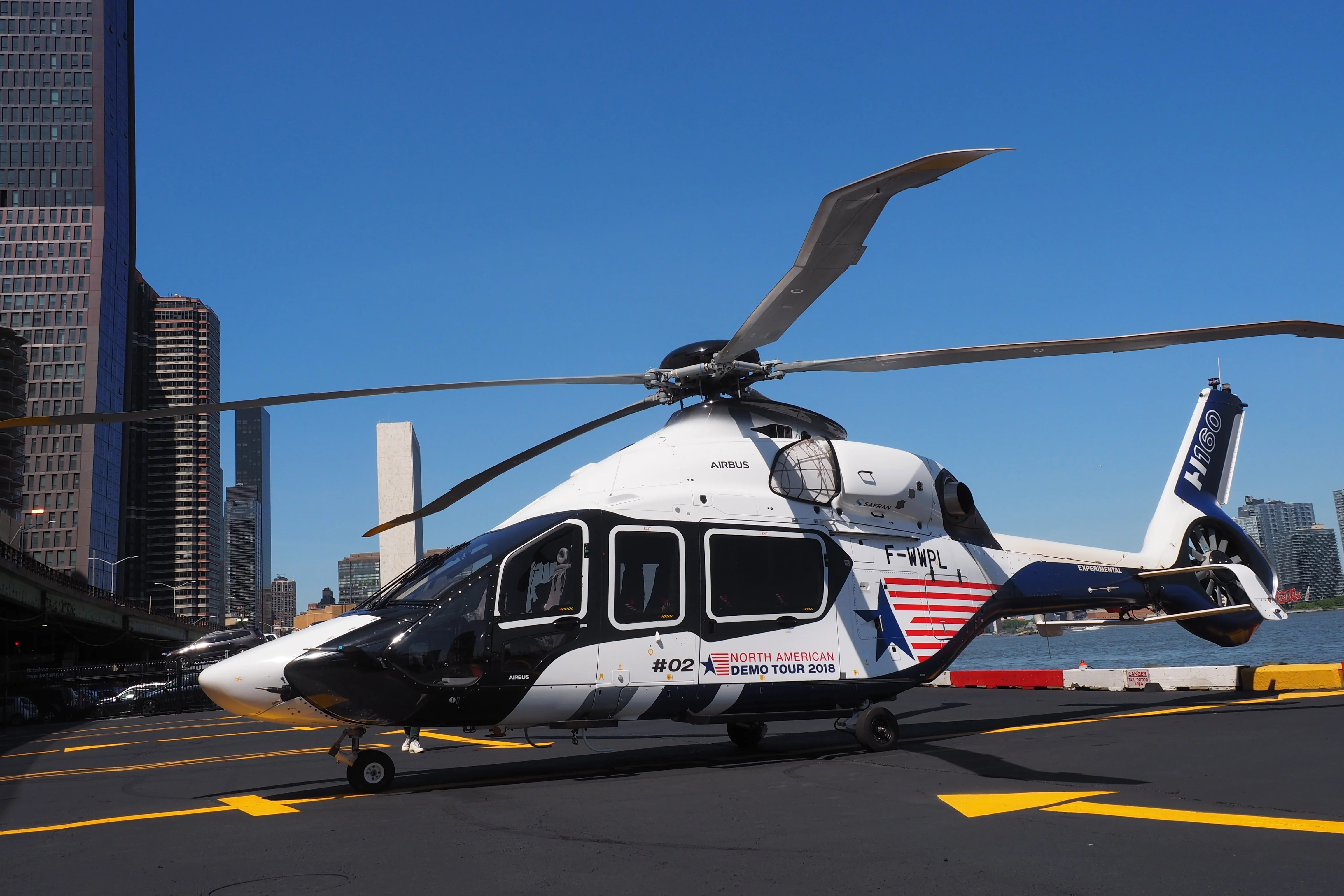 A Tour Of Airbus New Quieter H160 Helicopter