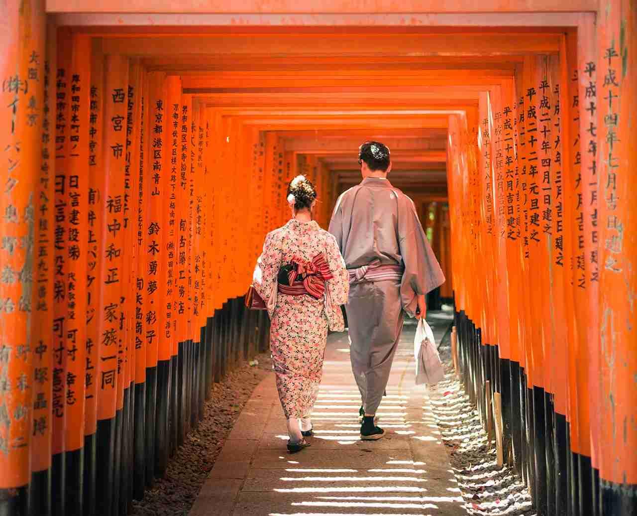 Kyoto Japan Honeymoon Destinations 2018. (Photo by George Clerk via Getty Images)