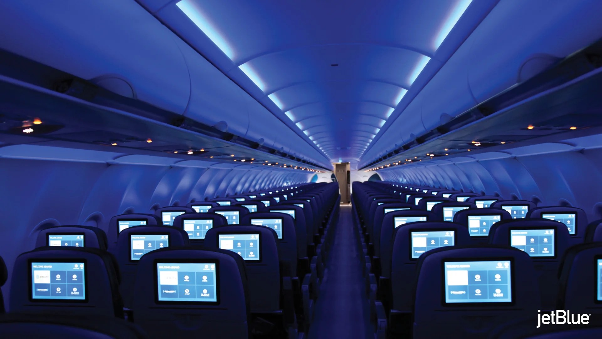 Jetblue Unveils First Restyled A320 With Updated Interior