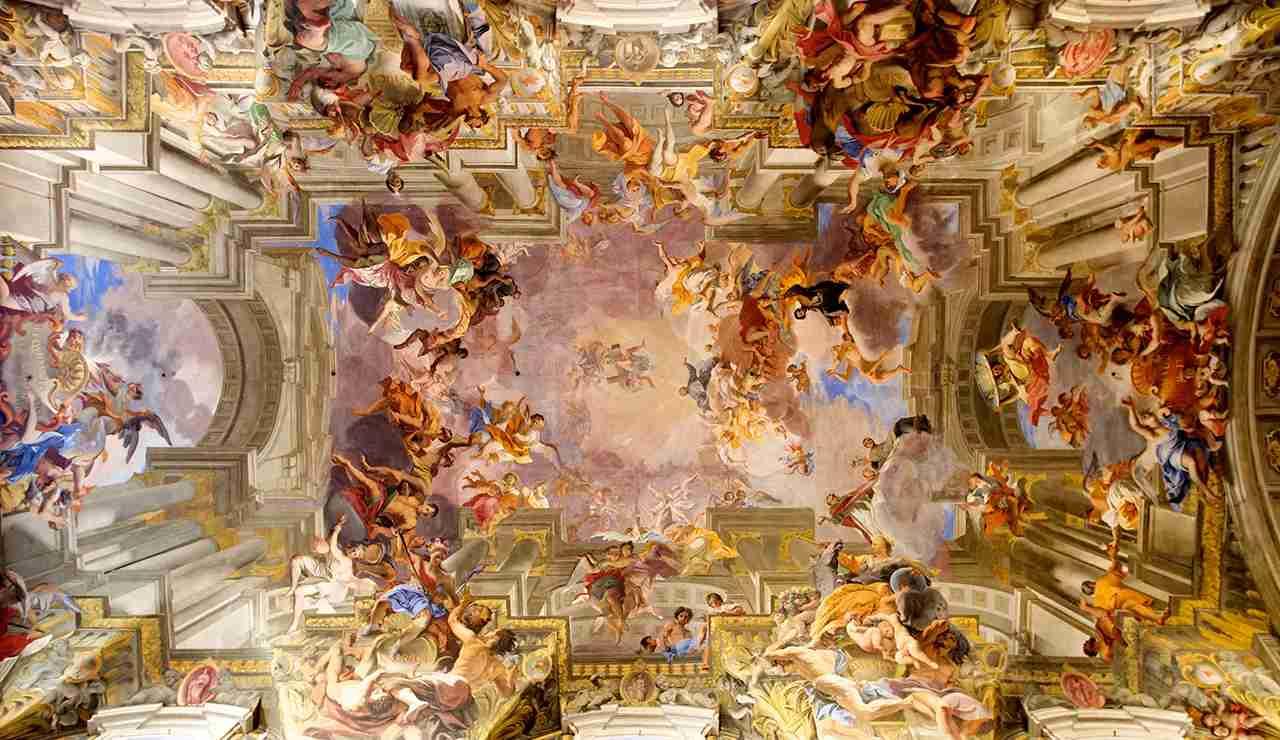 The frescos of Sant
