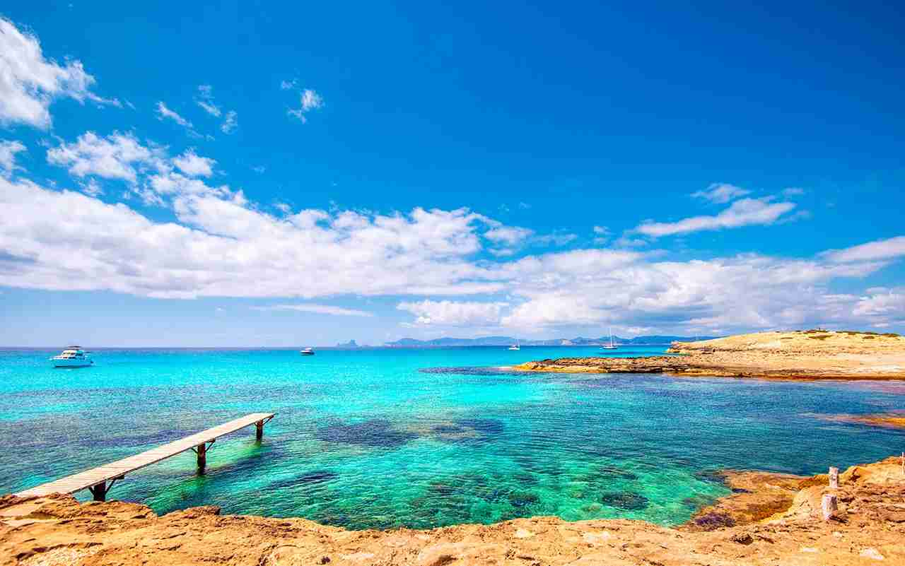 Playa de ses Illetes, Formentera, . (Photo by Juergen Sack / Getty Images)