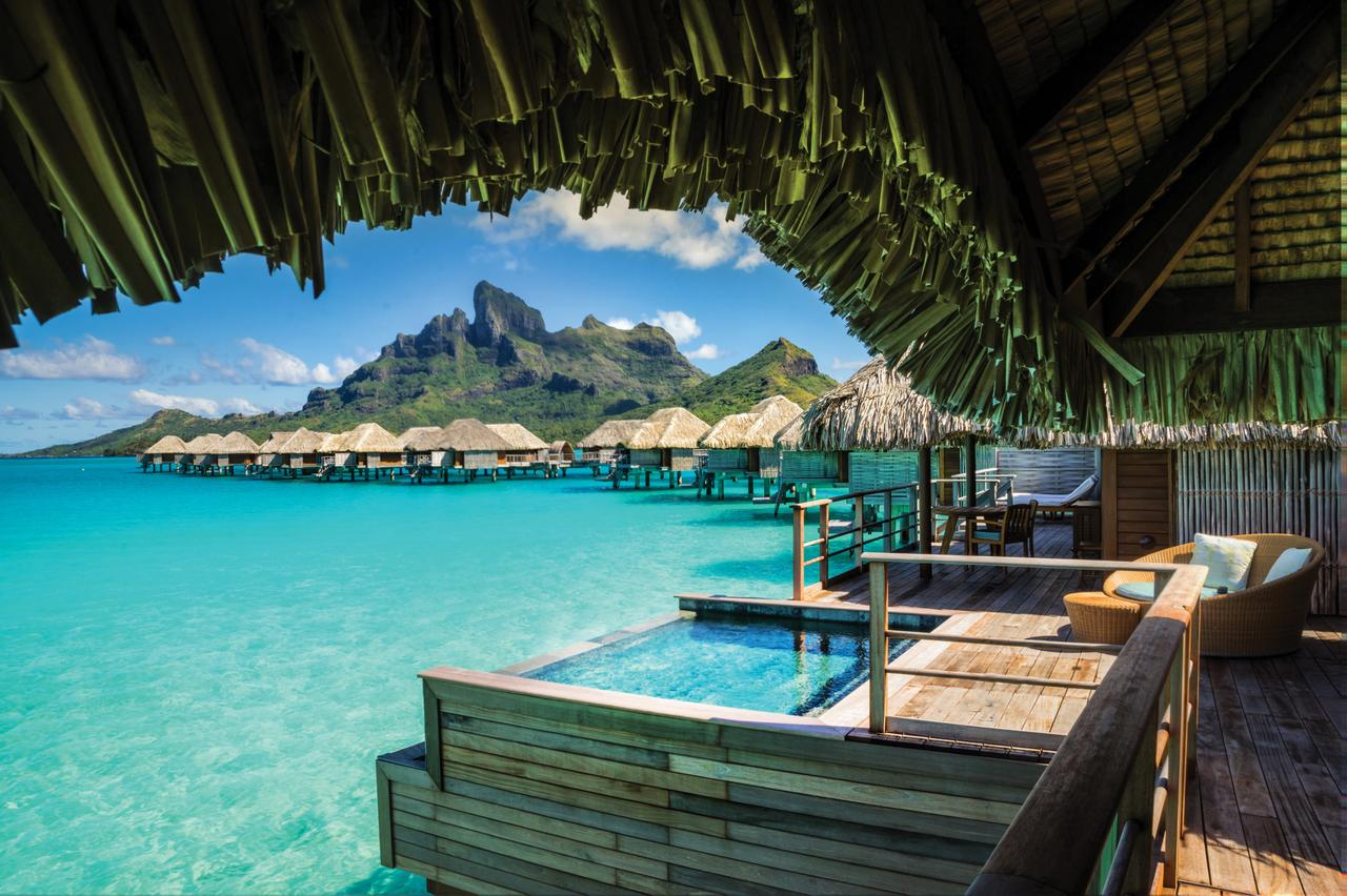 four seasons resort bora bora french polynesia photo courtesy of the four seasons