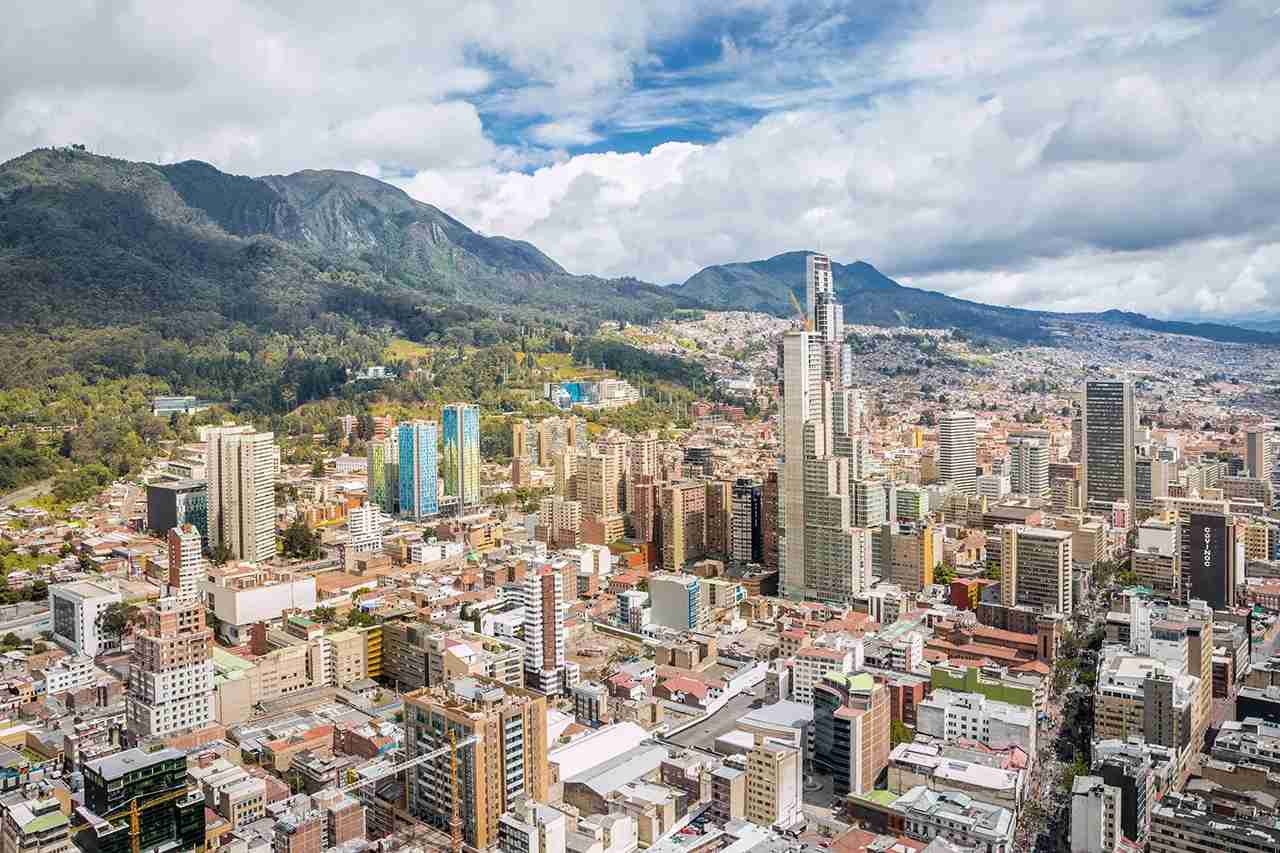 Brave the altitude and head to Bogota, Colombia. (Photo by Pintai Suchachaisri / Getty Images)