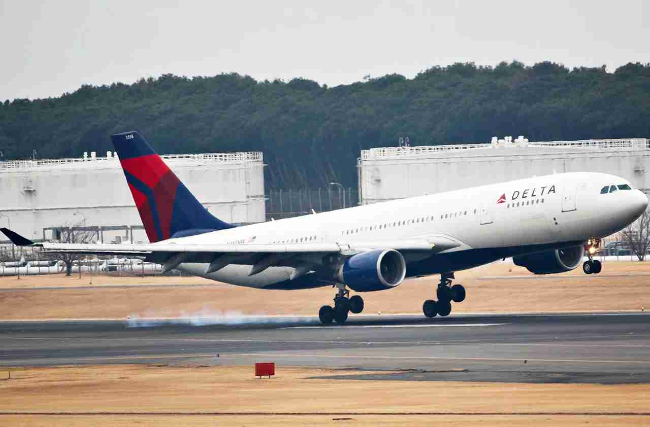 Delta A330 plane (Photo by lkarasawa via Flickr)