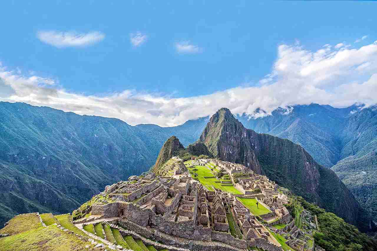 View of Machu Picchu, Peru with Wayna Picchu rising in the background. (Photo by Jesse Kraft / EyeEm / Getty Images)