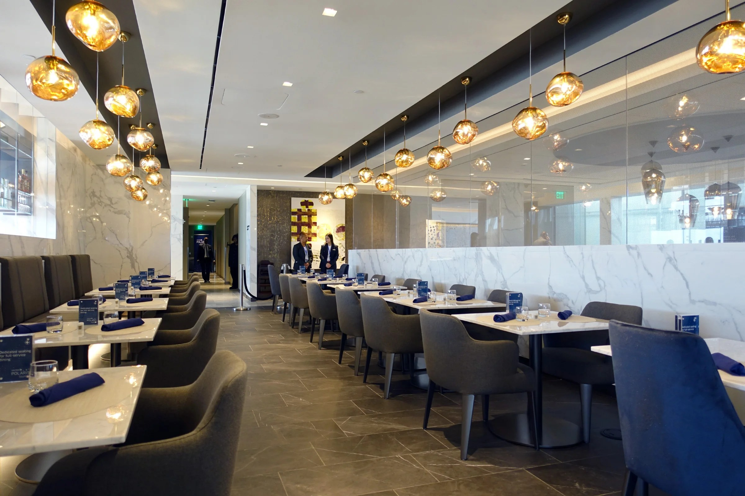 First Look Inside United S Houston Polaris Lounge Iah