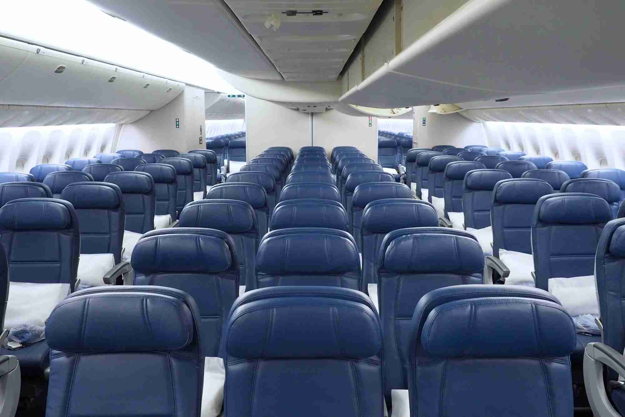 Delta Main Cabin economy seating