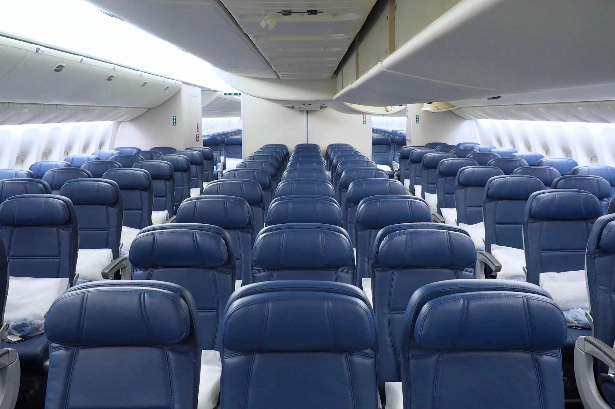 First Look at Delta's Refreshed 767-400ER Seating Configuration on
