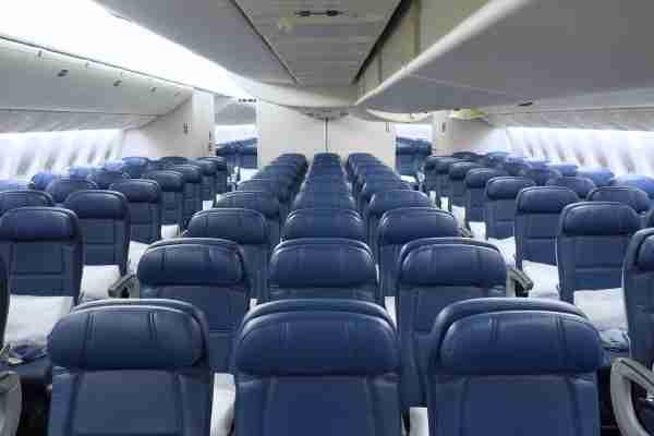 Delta Main Cabin economy seating