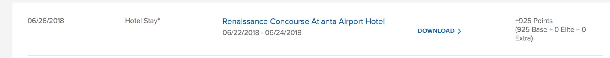 Review: The Atlanta Airport Renaissance Concourse Hotel