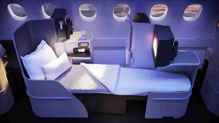 Virgin Atlantic A330 Upper Class refresh (Image courtesy of Virgin Atlantic)