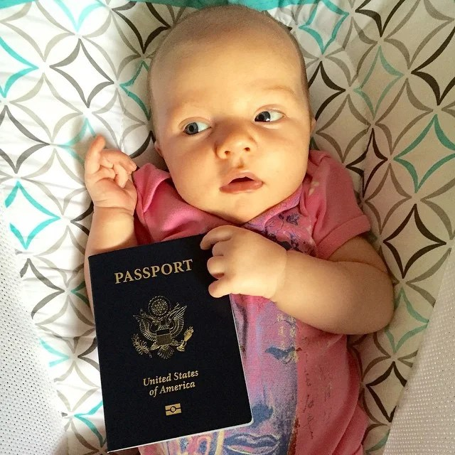 how to take passport photos for an.infant
