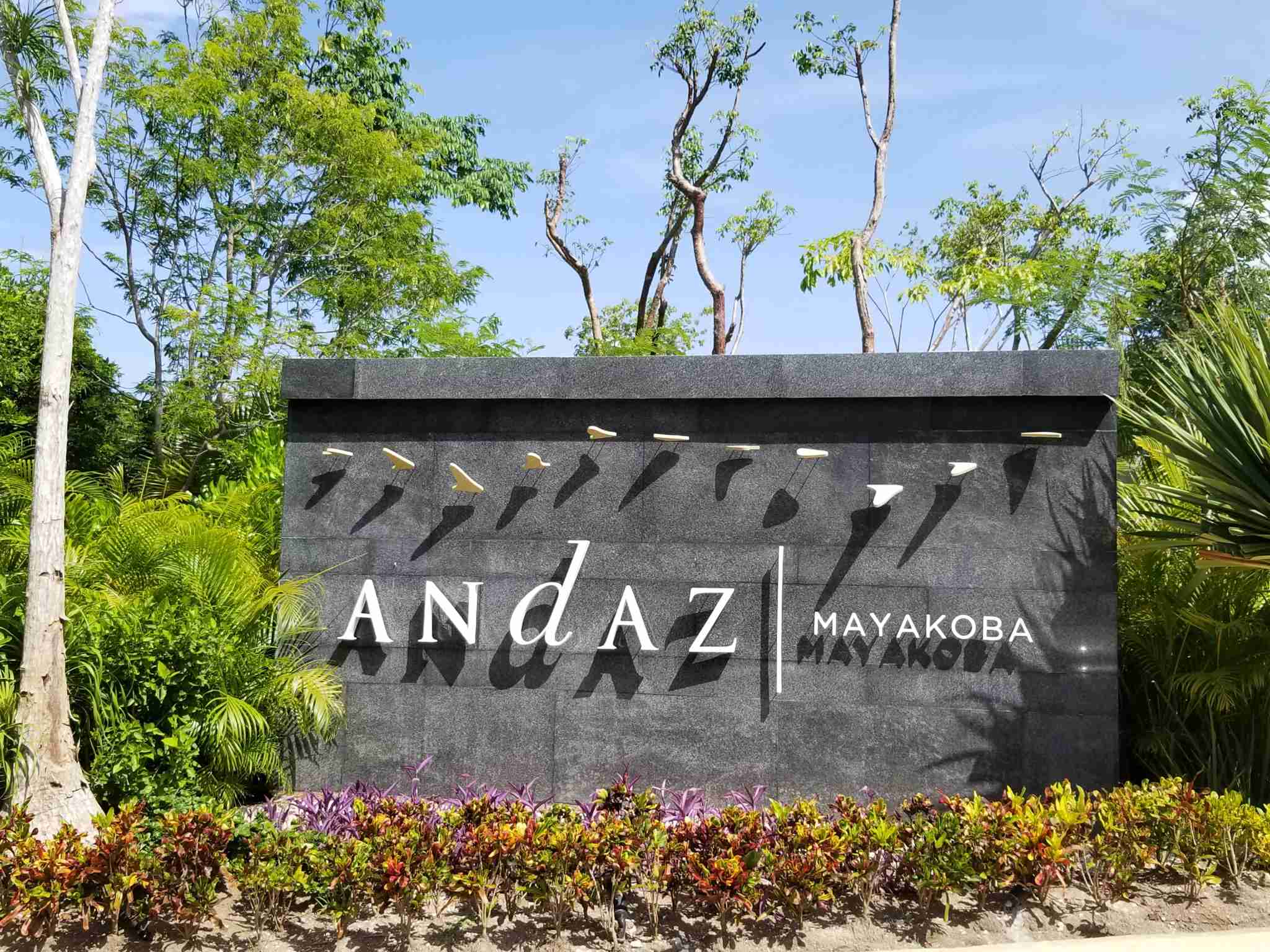 Andaz Mayakoba Entrance