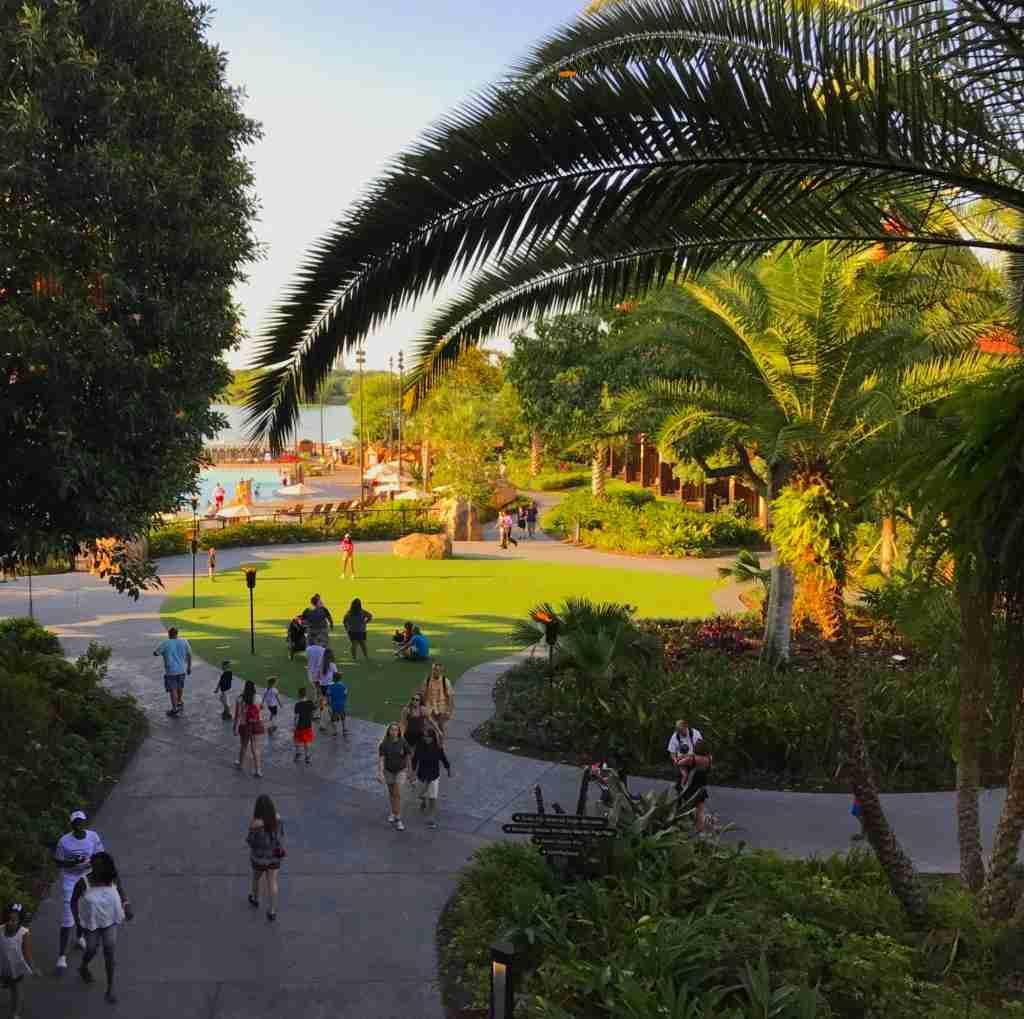 View of Disney