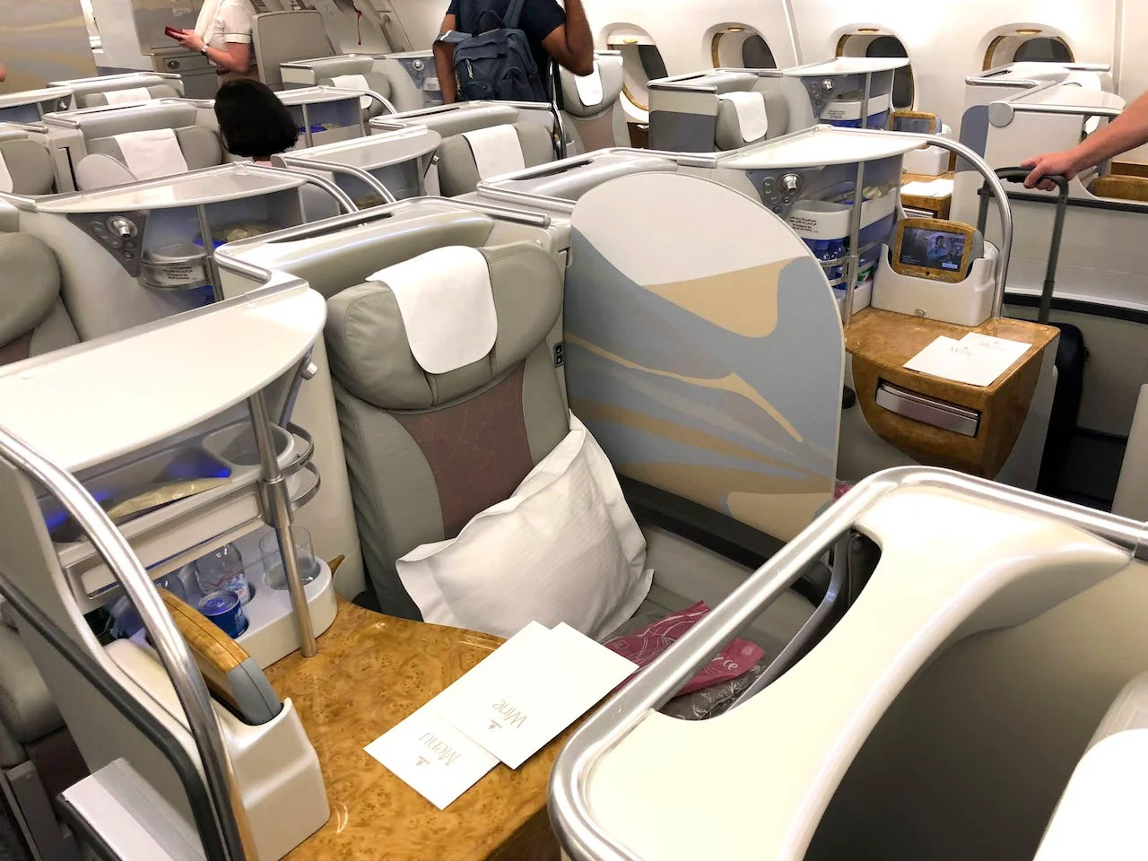 Review: Emirates (A380) Business Class From JFK to DXB