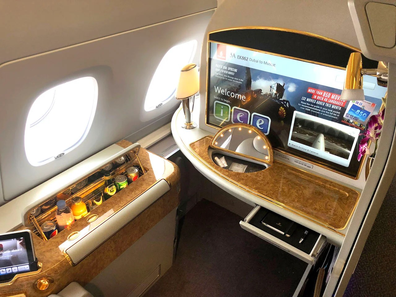 best way to get free upgrade on emirates