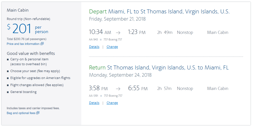 Deal Alert Flights To The Us Virgin Islands From 201 Round Trip