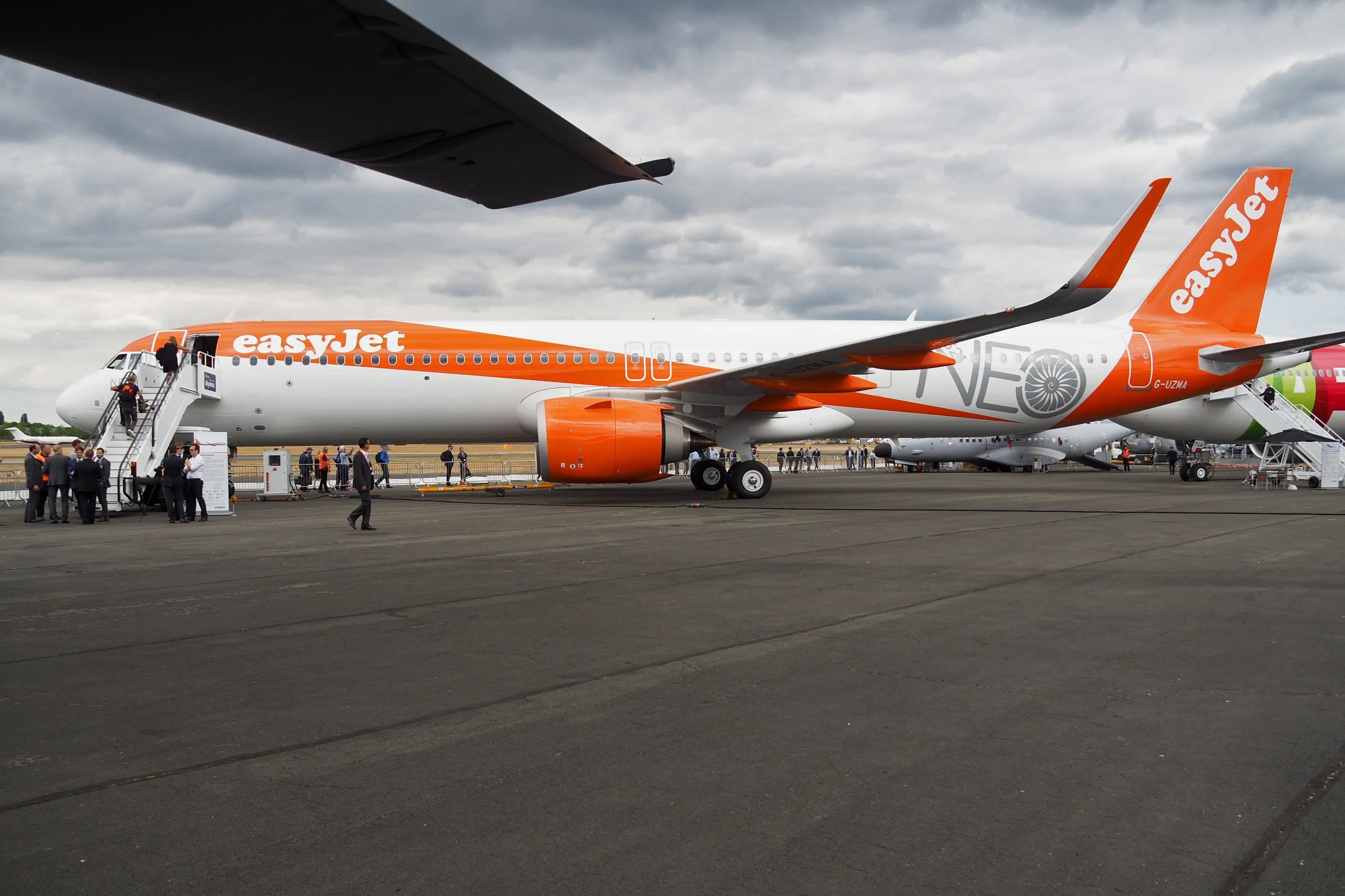 Inside The Nicest Easyjet Plane We Ve Ever Seen The A321neo