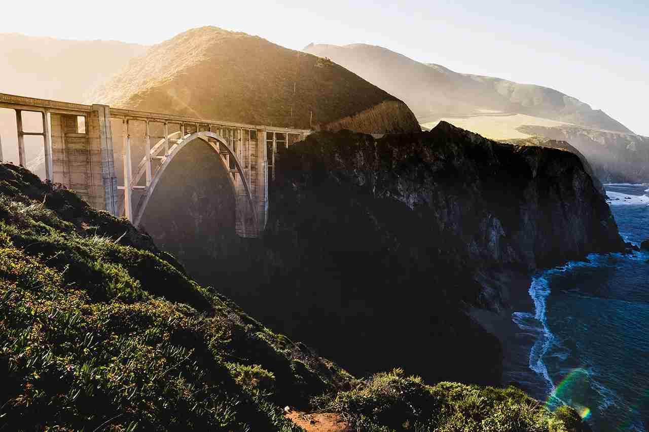 Bixby Bridge, Big Sur. (Photo by Dave Lastovskiy via Unsplash)
