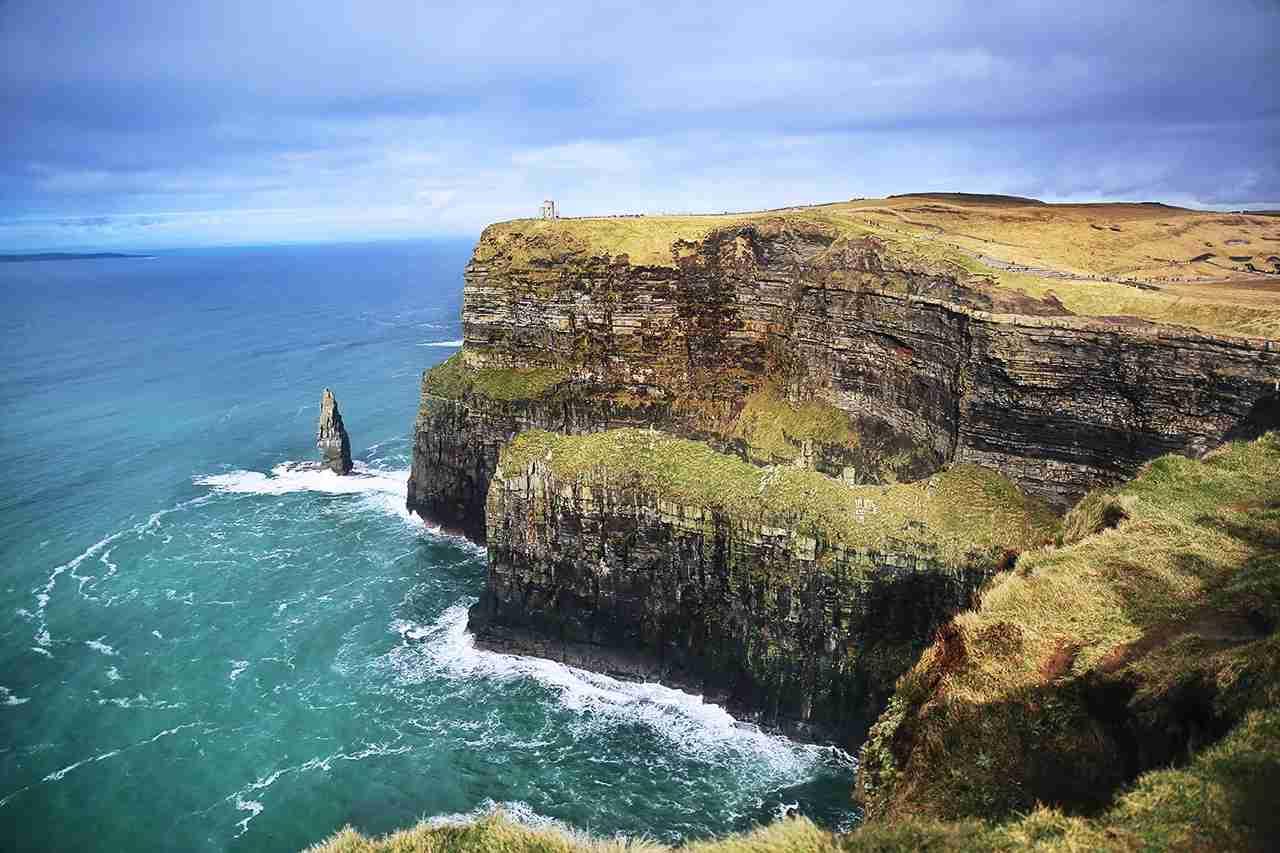 Cliffs of Moher, Ireland. (Photo by @fallonmichaeltx via Twenty20)