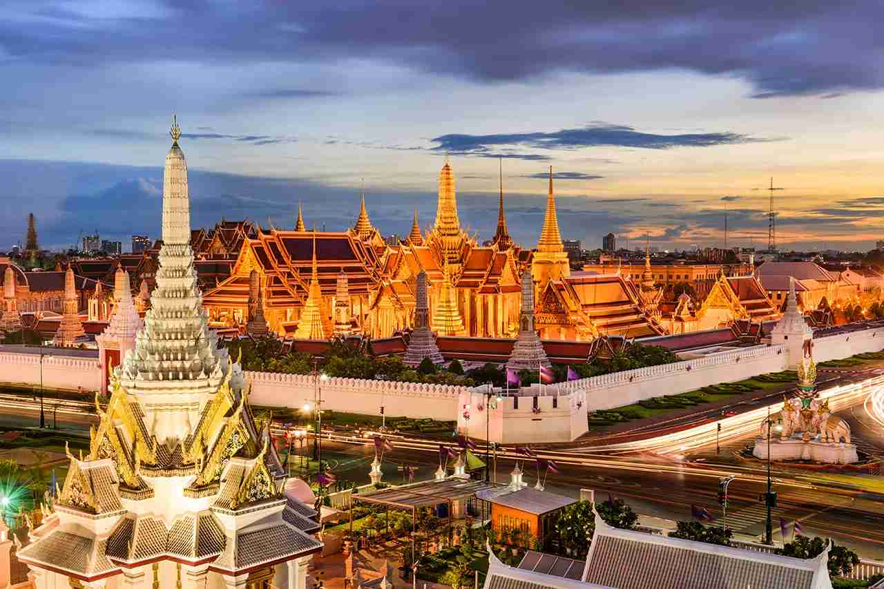 Bangkok, Thailand at the Temple of the Emerald Buddha and Grand Palace. (Photo by SeanPavonePhoto / Getty Images)