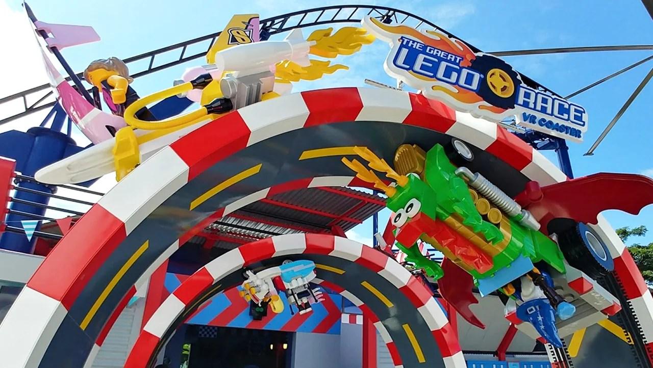 The Great Lego Race at LegoLand, Florida. (Photo courtesy of LegoLand)