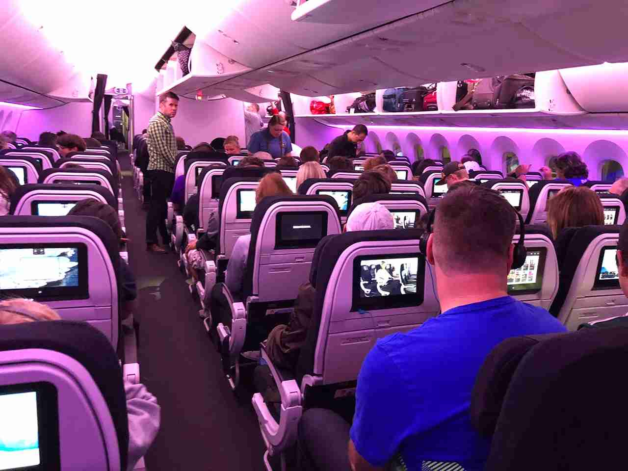 Air New Zealand 787 - Skycouch AKL-IAH_11
