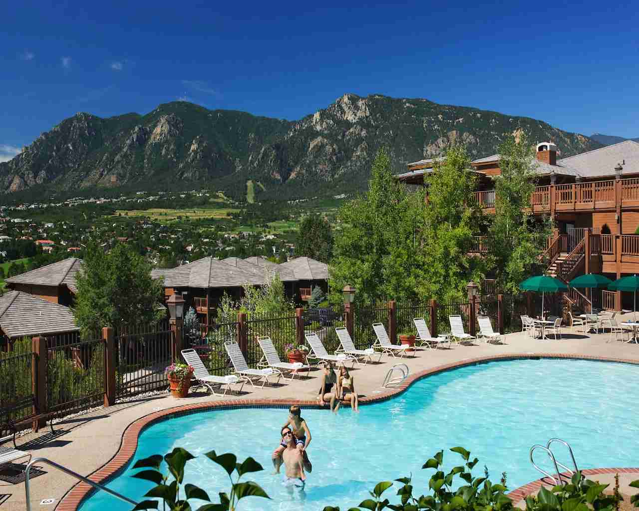 Pool at the Cheyenne Mountain Resort in Colorado Springs