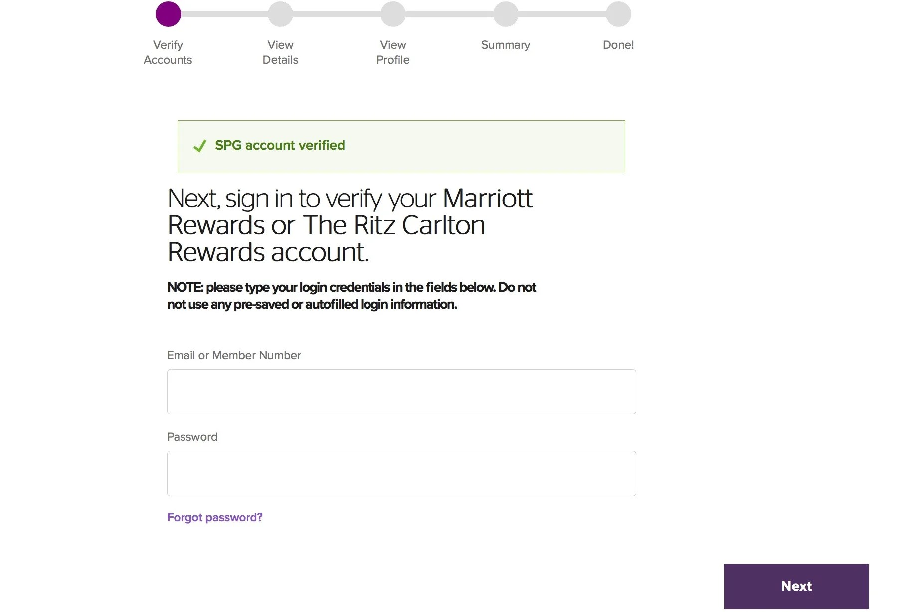 How to Combine Your Marriott and SPG Accounts