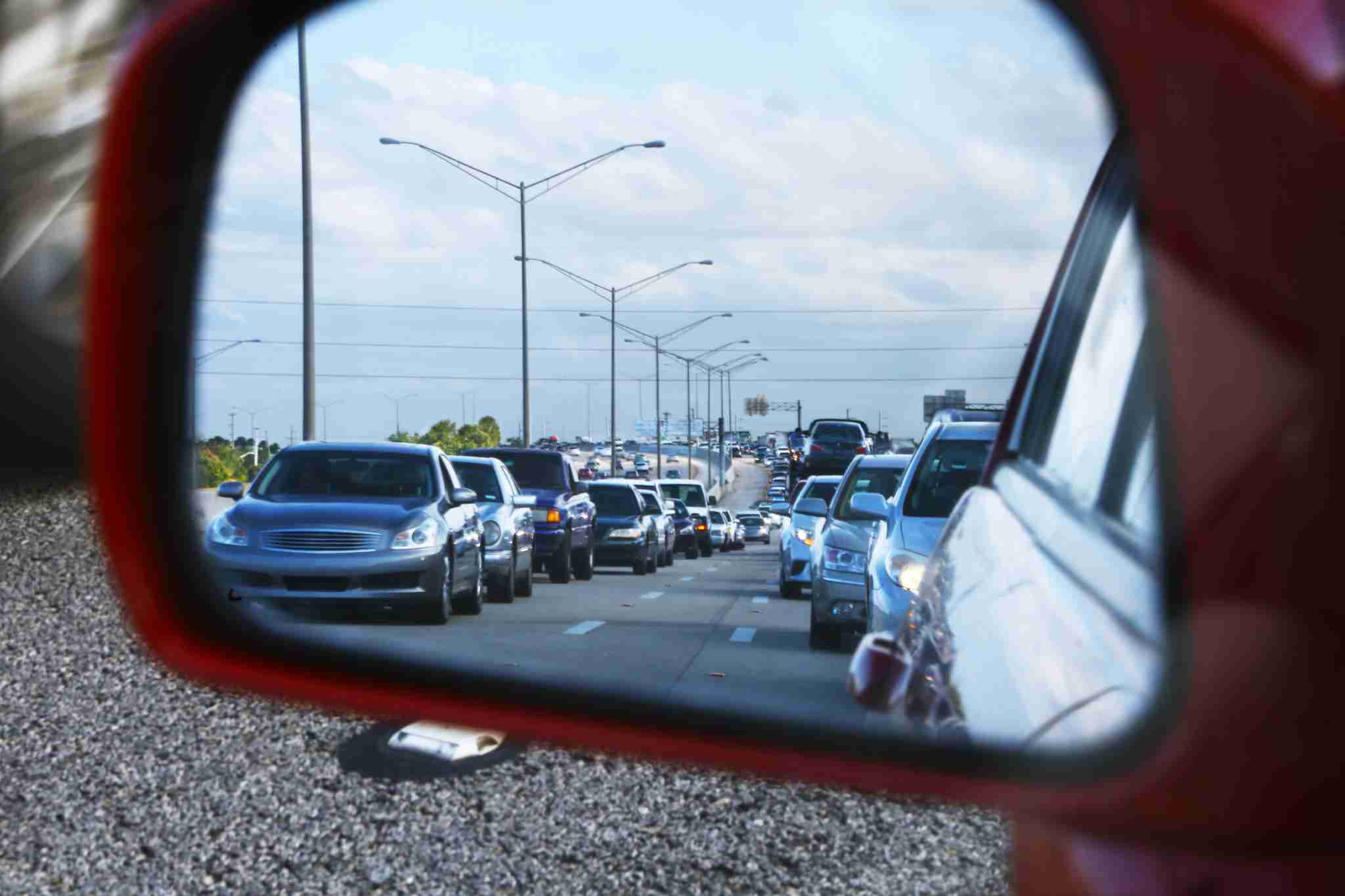 Not an uncommon scene on I-95 (Photo by Manakin / Getty Images)