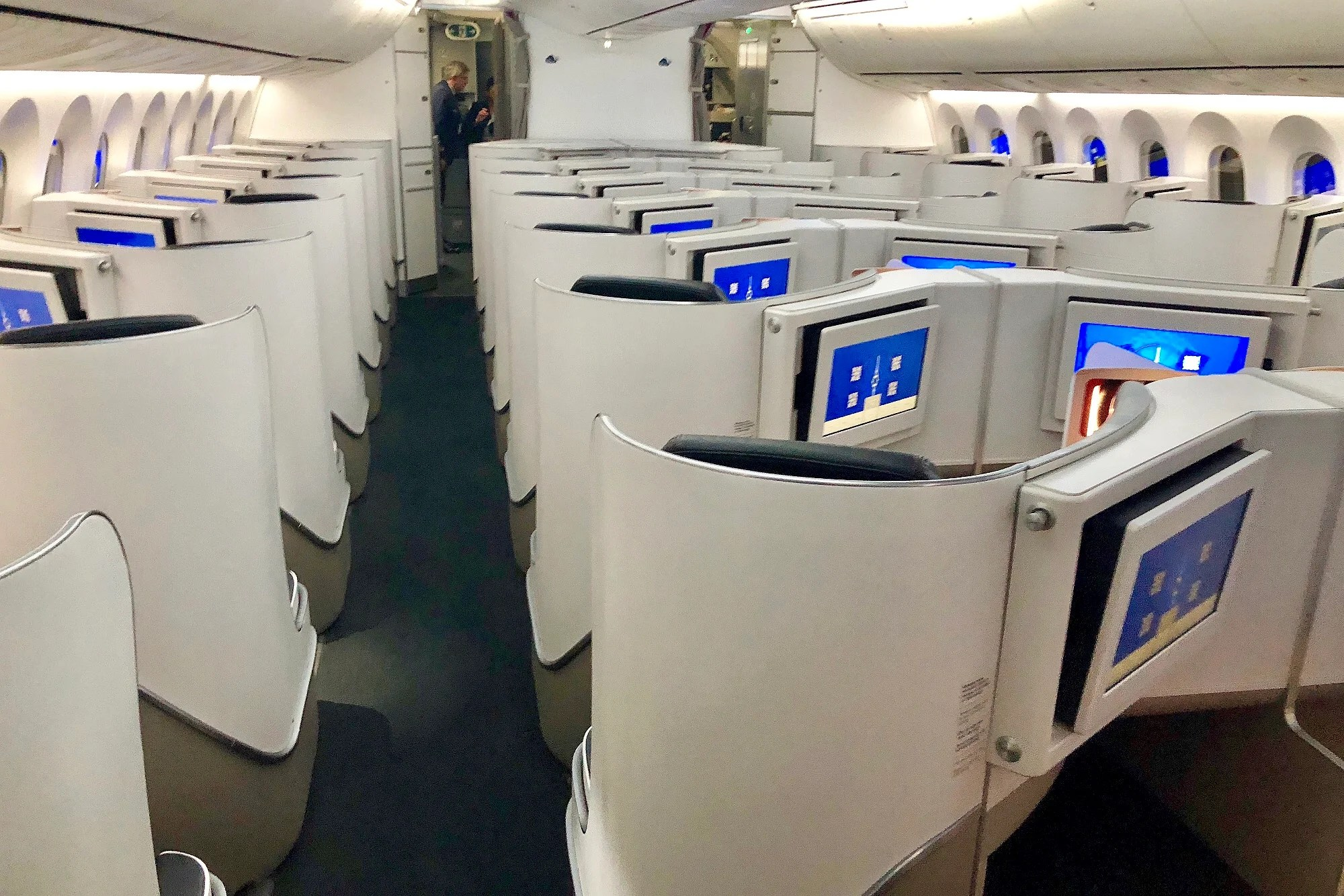 Remarkable Review Air France Business Class 787 9 From Jfk To Paris Theyellowbook Wood Chair Design Ideas Theyellowbookinfo