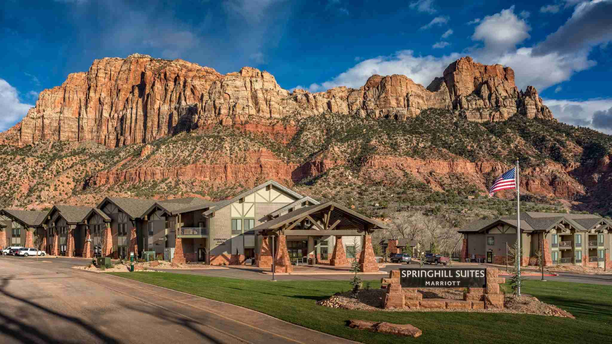 Springhill Suites Zion National park entrance (photo courtesy of the hotel)