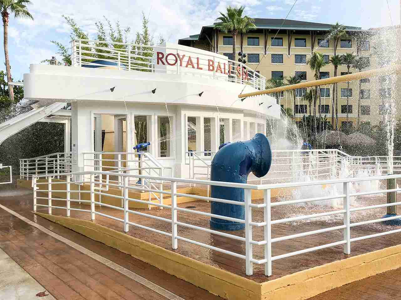 Loews Royal Pacific Pool