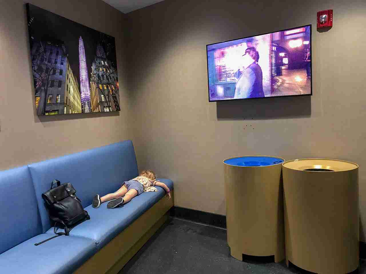 Universal waiting rooms (Summer Hull / The Points Guy)